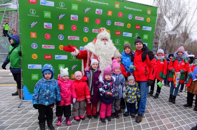 Дед Мороз в Казани