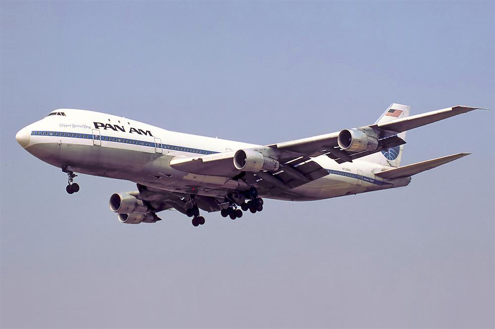 Boeing 747-121 Pan American.