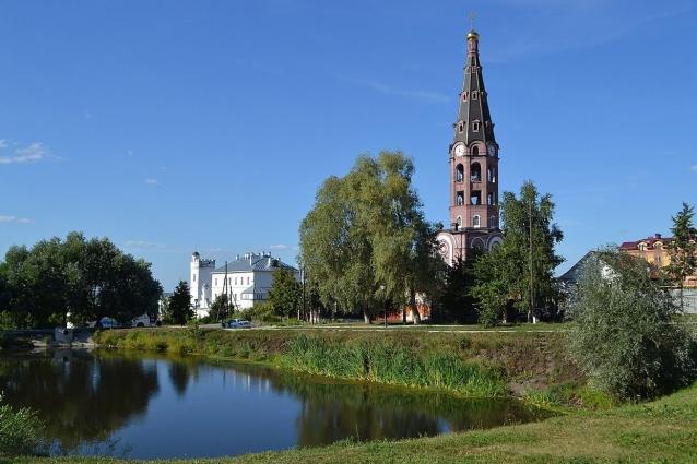 Мужской монастырь в Алатыре.