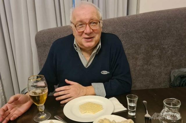 Писатель Георгий Лорткипанидзе.
