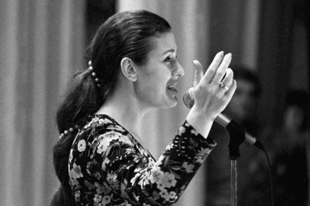 Валентина Толкунова, 1975 г.