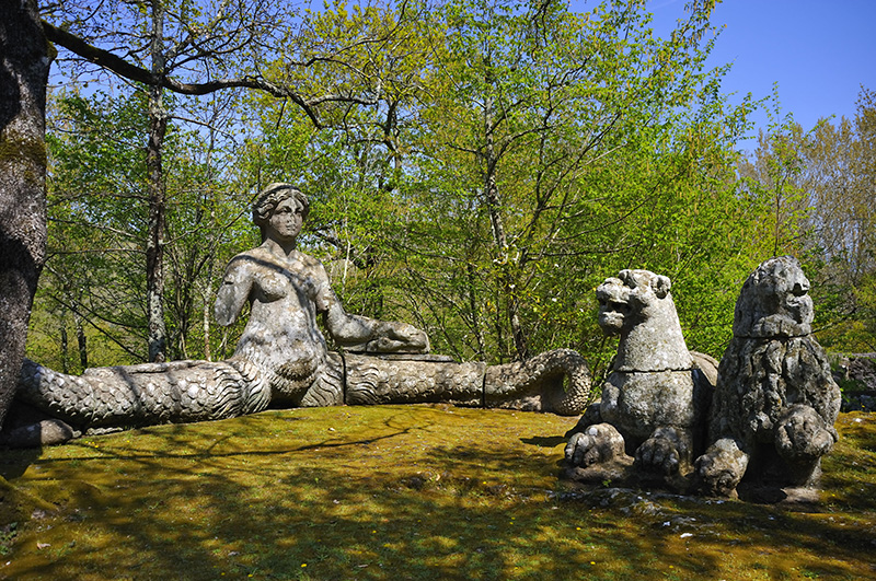 Парк чудовищ Бормацо