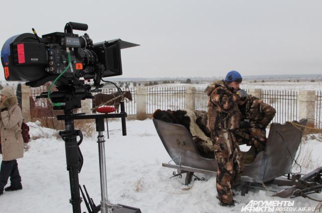 От идеи до съёмок могут произойти непредсказуемые ситуации (съёмка телесериала Тихий Дон в 2015 году)