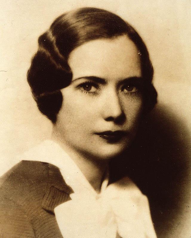 Маргарет Митчелл в молодости.