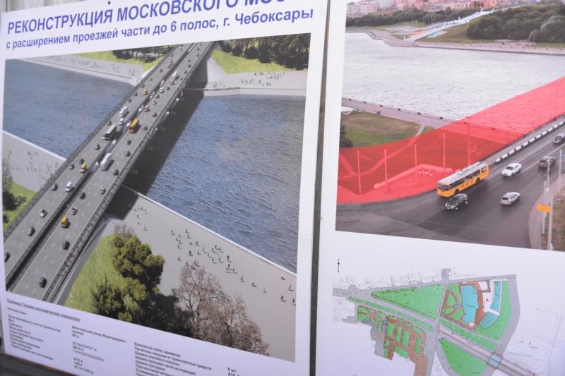 Московский мост, Чебоксары
