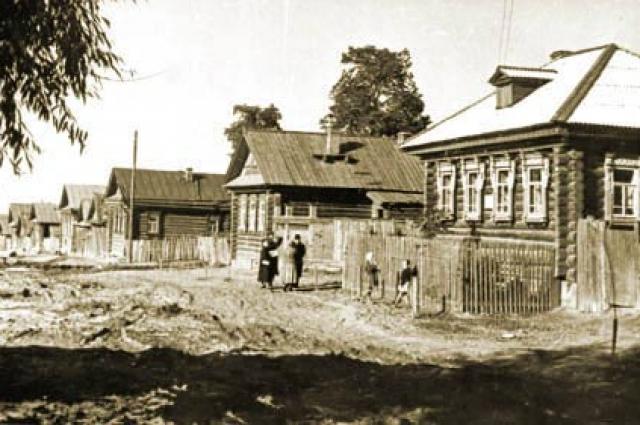 деревня Будайка, где родился В.И.Чапаев, 1960 год