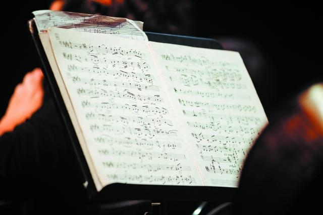 Ноты хранять память о каждом из композиторов.
