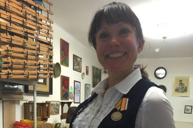 Блистательное исполнение фламенко принесло оксане нежинской медаль Министерства обороны РФ.