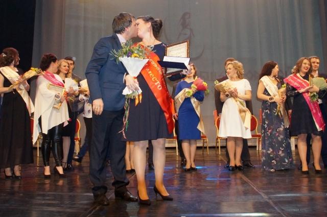 Евгения Гриднева победила в городском конкурсе в том числе благодаря поддержке всей семьи.
