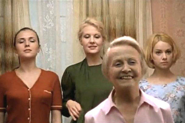 Татьяна Окуневская в фильме «Граница. Таежный роман» (2000)