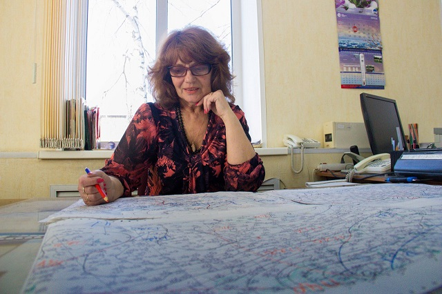 Синоптик Наталья Храмцова прекрасно разбирается в метеорологических символах.