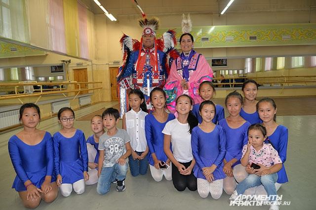 За время путешествия множество бурятских детей приобщились к индейской культуре.