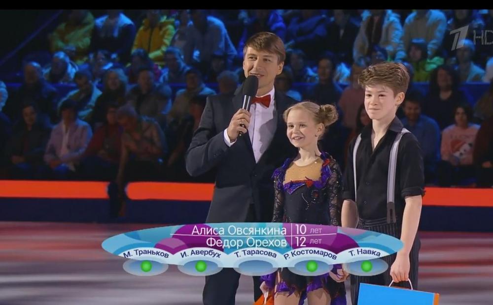 Выступление пары высоко оценили все члены жюри