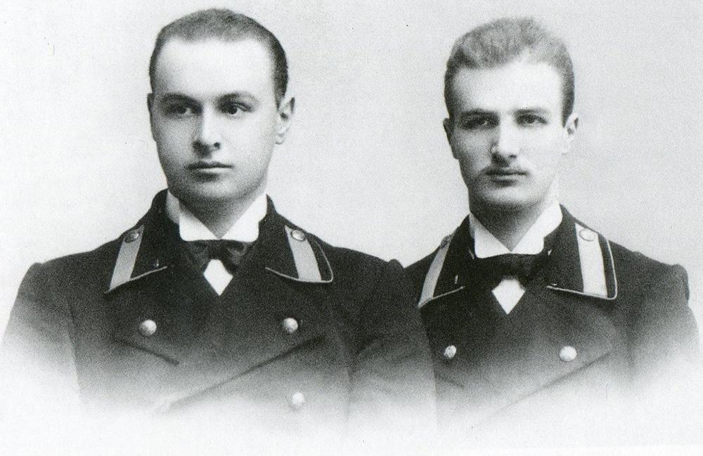 Арнольд и Артур Бренинги - студенты Казанского университета.