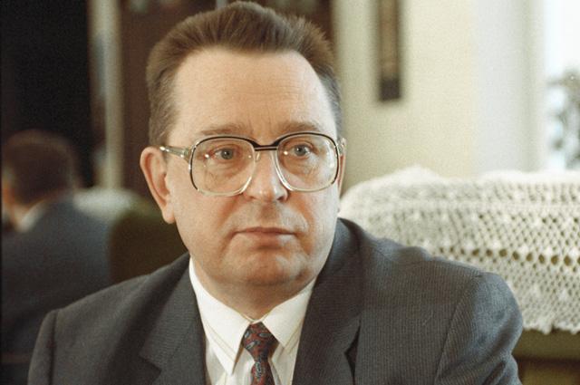 Валентин Павлов. 1993 г.