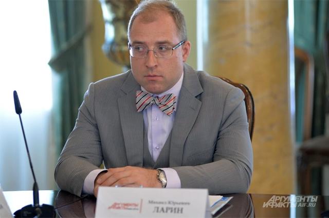 Руководитель общественного проекта «Безопасная школьная форма» Михаил Ларин.