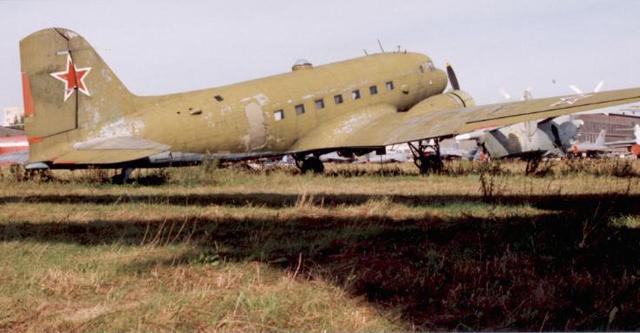 Ли-2 идентичный разбившемуся.