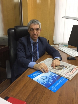 Директор предприятия Павел Пиляев