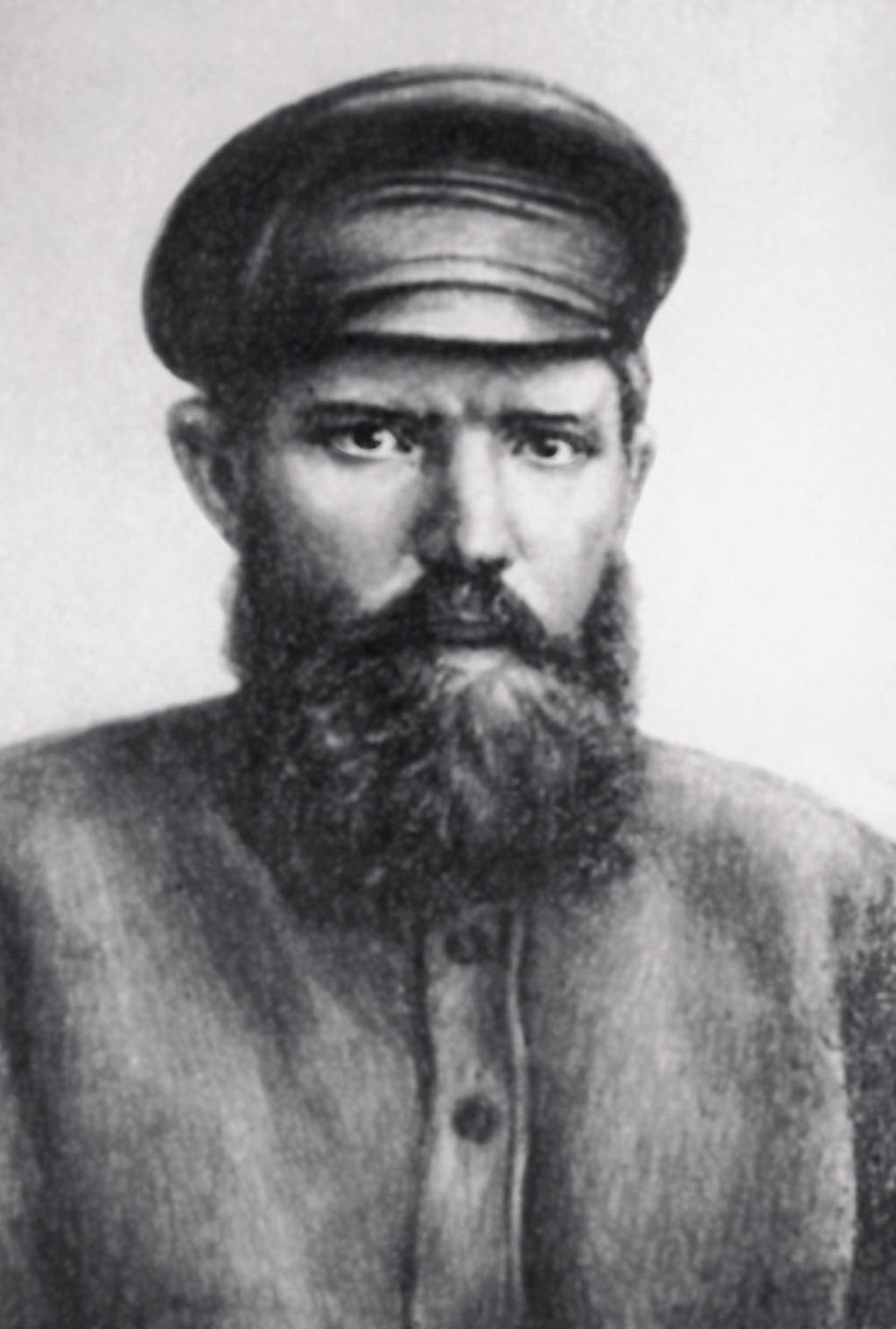 Первый председатель УралгубЧК, легендарный «экспроприатор» Михаил Ефремов.