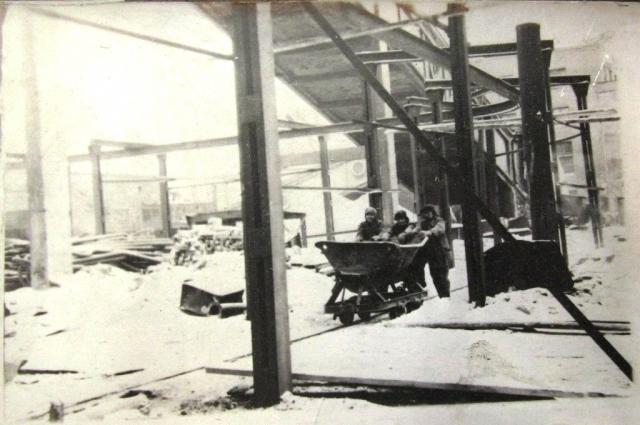 Так работали ТЭЦ во время войны.
