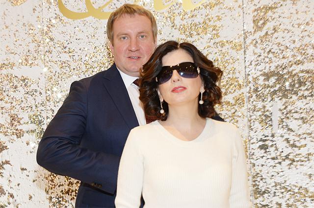 Диана Гурцкая и ее муж Петр Кучеренко.