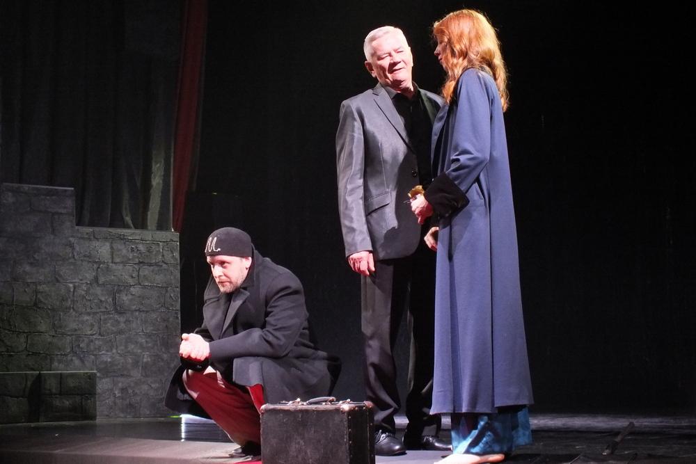 Владимир Сергияков играл Мастера, в этот раз – Воланд.