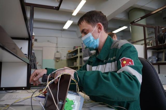 Даниил Лучников, слесарь-наладчик контрольно-измерительных приборов и автоматики.