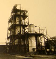 Установка В. Г. Шухова для термического крекинга нефти, 1931