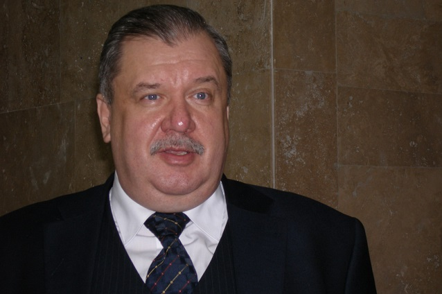 кандидат в губернаторы Пензенской области Владимир Попков