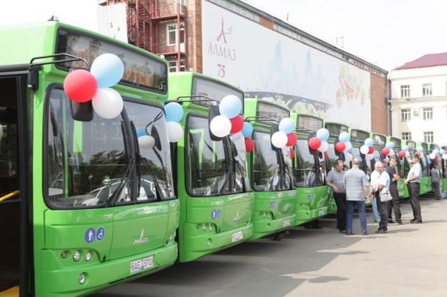 Каждый день на линию выходит 150 автобусов.