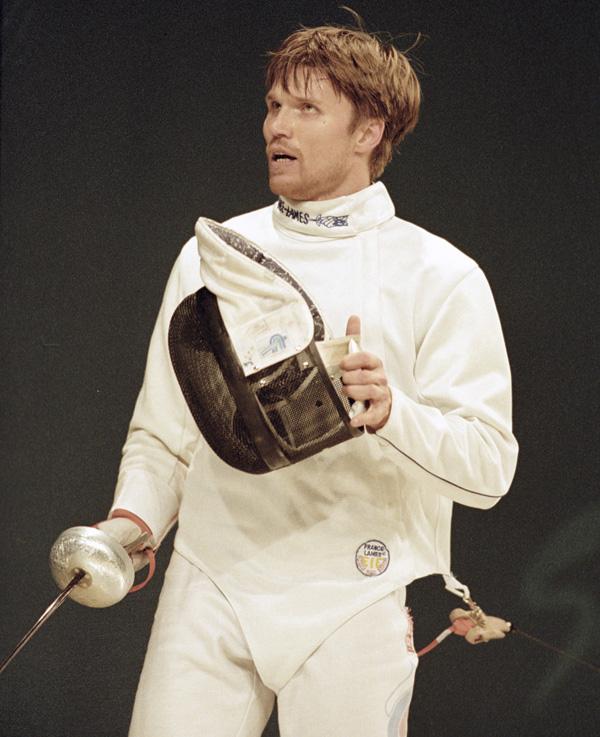 Павел Колобков на XXVII летних Олимпийских играх в Сиднее.