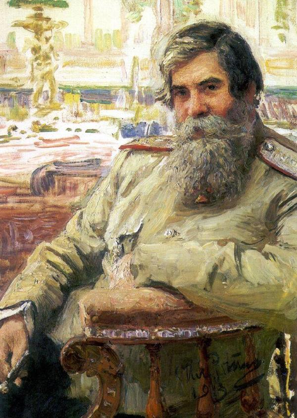 Портрет В.М. Бехтерева кисти Ильи Репина, 1913 г.