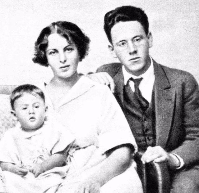 Самуил Маршак с женой и дочерью Натанаэль.
