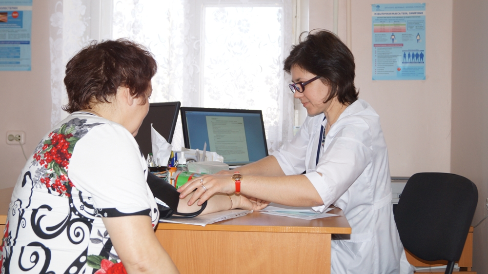 В больнице Карабаша пациенты получают всю необходимую медицинскую помощь.