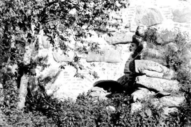 Тайный ход в сушило, через который нападавшие проникли в монастырь.