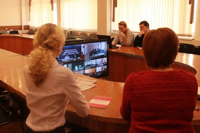 Зрителями и слушателями видеоконференции стали порядка 350 забайкальцев.
