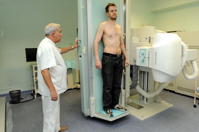 Рентген, обследование, доктор