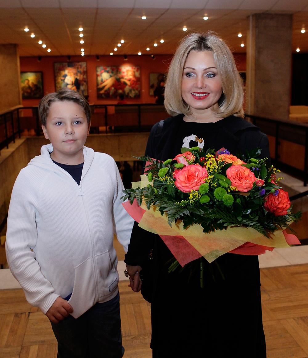 Ирина Климова с сыном Никитой. 2011 год.