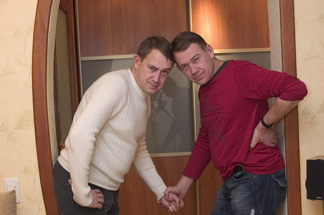 Александр и Валерий Пономаренко.