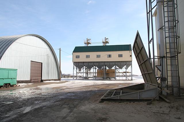 Комбикормовый завод территория