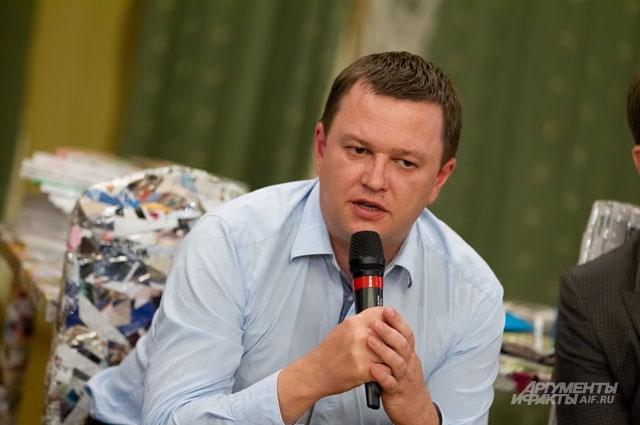 Денис Воронков, генеральный директор ИД Аргументы и Факты