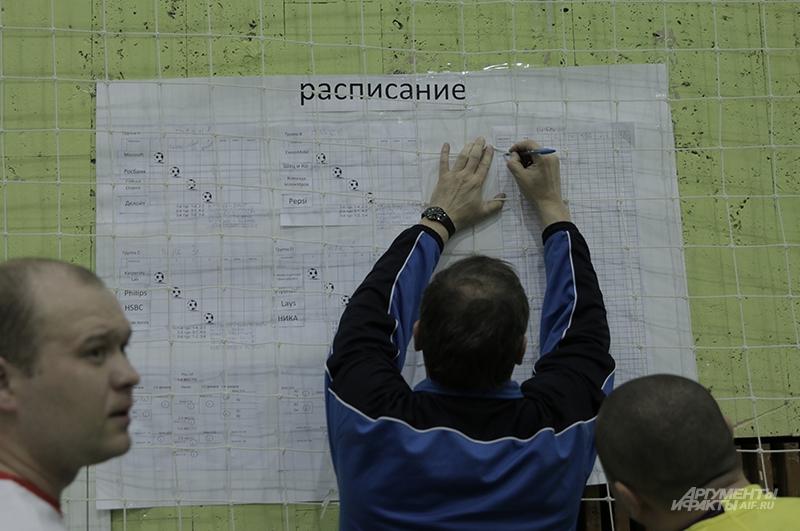 16 команд-участниц турнира соревновались по круговой системе