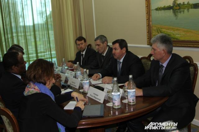 Встреча в Ростове правительства Ростовской области с делегацией ОНН прошла при закрытых дверях