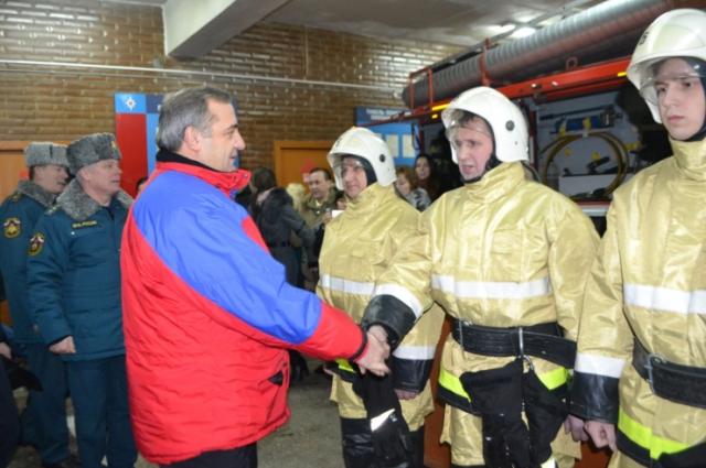 визит главы МЧС России в Чувашию