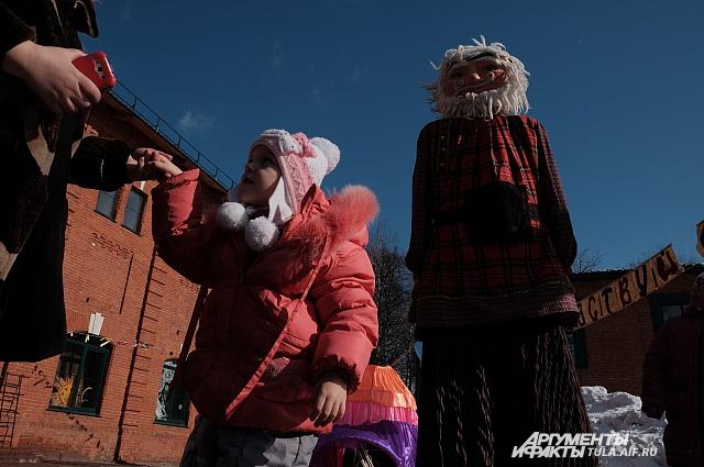 Фото с празднования Масленицы.