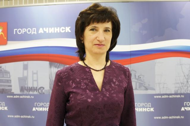 Главный архитектор Ачинска Жанна Грибалева.