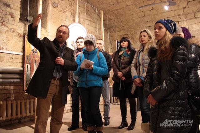 Выставка вызвала интерес у публики самого разного возраста и отношения к религии