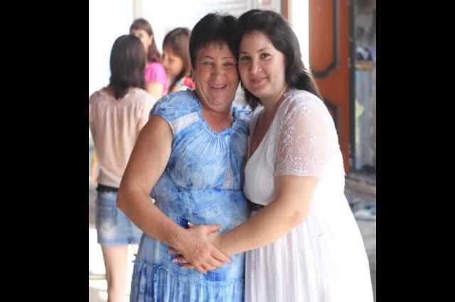 Светлана Викторовна с племянницей.