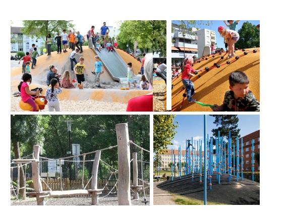 И детские площадки