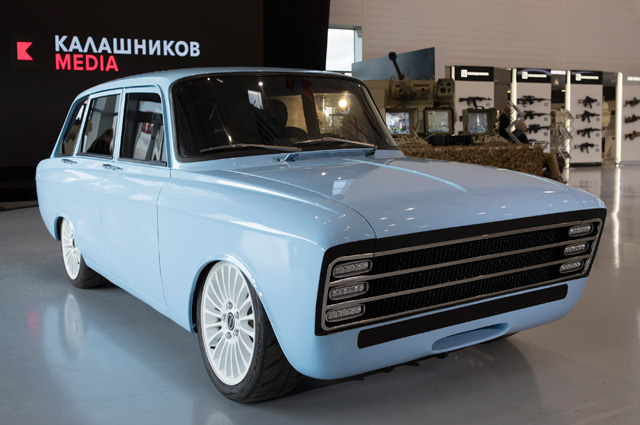 Концепт электрокара концерна «Калашников» CV-1.